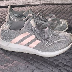 Adidas Ultraboosts Grey and Pink